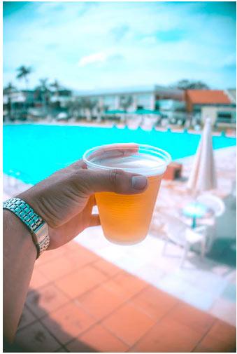 Beer cup & pool
